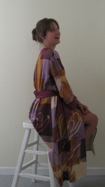 crocus robe to print