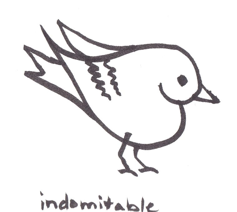 heart bird - indomitable