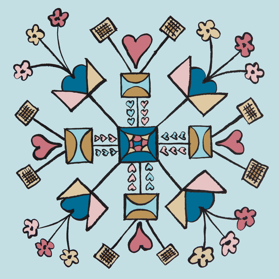 square hearts & flowers2