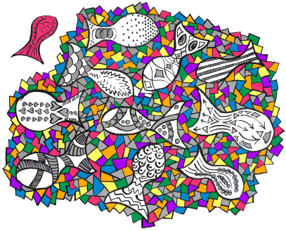 stained glass fish (2)